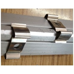 PERFILT37S Soporte fijacion superficie para perfil aluminio tira led T37B