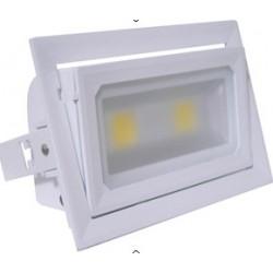 R7S40001 Proyector LED R7S.Blanco.40W 90º Rotacion Frio 4400lm.120º
