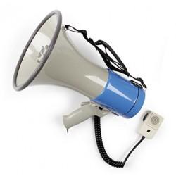 Megáfono con sirena y micrófono MF-215S