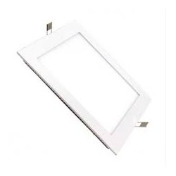 Downlight cuadrado empotrar color blanco