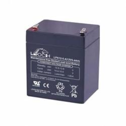 Bateria de plomo 12V-5A, medidas 90 x68 x100 mm