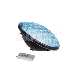 Bombilla Piscina LED PAR56 25W Color AZUL 12V AC.