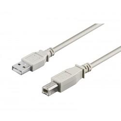 CONEXIÓN USB-A 2.0 MACHO-MACHO USB-B 2.0