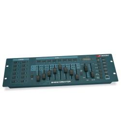 SHOW CREATOR. Consola de control hasta 192 canales DMX