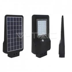 Farola LED Solar 15W cuerpo negro