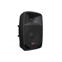 Woofer 15'' + Tweeter 1.5''. Amplificador 240W. USB/SD/BT