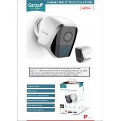 Camara exterior vigilancia IP WIFI HD 1080p GARZA SMART HOME