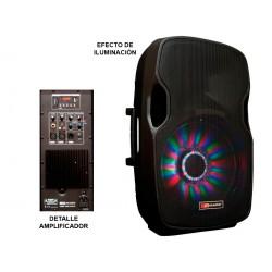 Caja acústica activa. 300 W programa. Woofer 15''