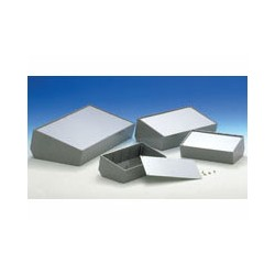 "CAJA MODELO ""PULT"" 36 - GRIS OSCURO 216 x 130 x 77.7mm"