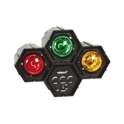 ÓRGANO DE LUZ MODULAR - 4 x 47 LEDs  VDLL4RL2