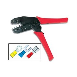 ALICATES PARA CRIMPAR CONECTORES FAST-ON - TRABAJO DURO 6""