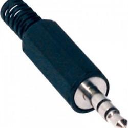 CONECTOR JACK 3.5mm MACHO ESTEREO