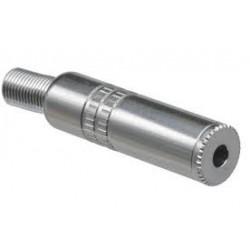 CONECTOR JACK 6.3mm HEMBRA MONO AEREA METALICA