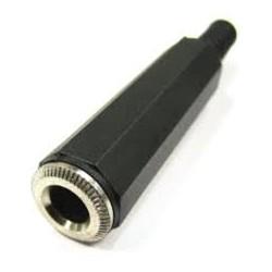CONECTOR JACK 6.3mm HEMBRA AEREA MONO