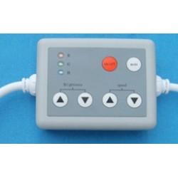 CONC6KEY  RGB LED Controlador para TLEDS con 6 botones.