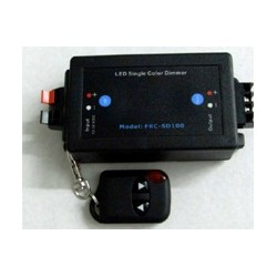 CONRF1CH LED Controlador regulacion brillo con Mando a distancia0