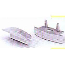 PERFILT31T  Perfil aluminio 2mtrs para Tira Led