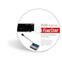 Software programador de mensajes ZSM-2030-SO